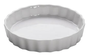 M&W White Basics Kitchen Quich Form 13 cm