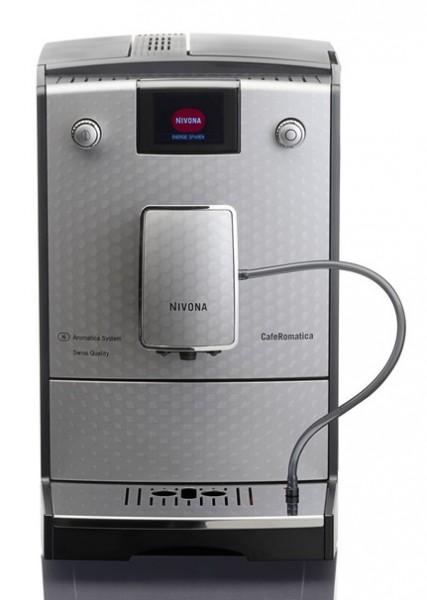 Nivona CafeRomatica NICR 768 Kaffeevollautomat silber