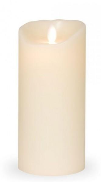 Sompex Flame LED Echtwachs Kerze elfenbein 18,0 cm