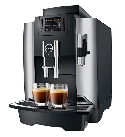 Jura Professional WE8 Kaffeevollautomat chrom