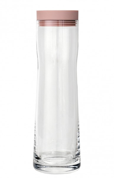 Blomus Wasserkaraffe Splash rose dust 1,0 Liter