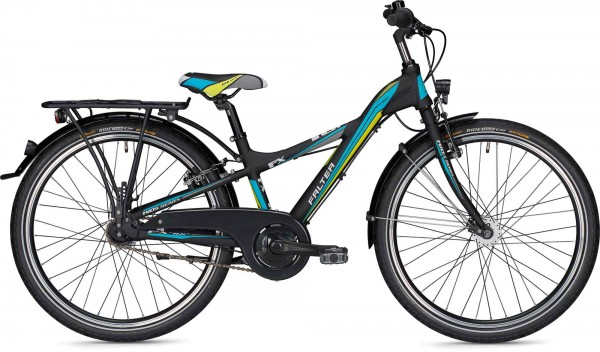 Falter FX 407 Pro Y-Lite Jugendrad 24 Zoll schwarz