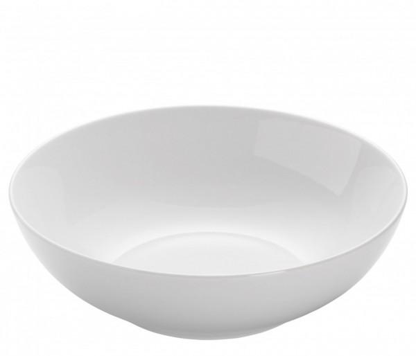 M&W White Basics Round Pastateller 20,0 cm