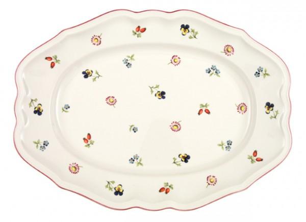 V&B Petite Fleur Platte oval 37 cm