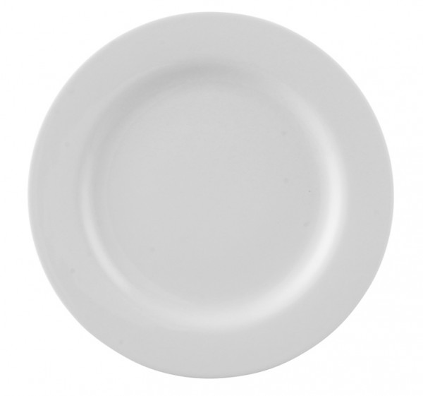 Rosenthal Moon weiß Frühstücksteller 22 cm Fahne