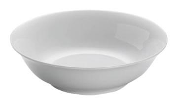 M&W White Basics Round Frühstücks-/Suppenschale rund 18 cm
