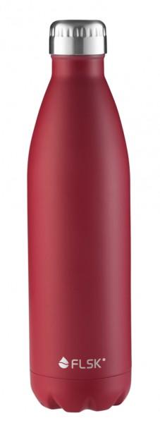 FLSK Isolier-Trinkflasche bordeaux 0,75 Liter