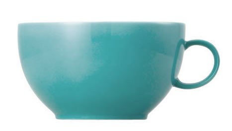 Thomas Sunny Day Turquoise Cappucino Obertasse 0,38 L