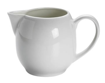 M&W White Basics Round Sahnekännchen 0,30 L
