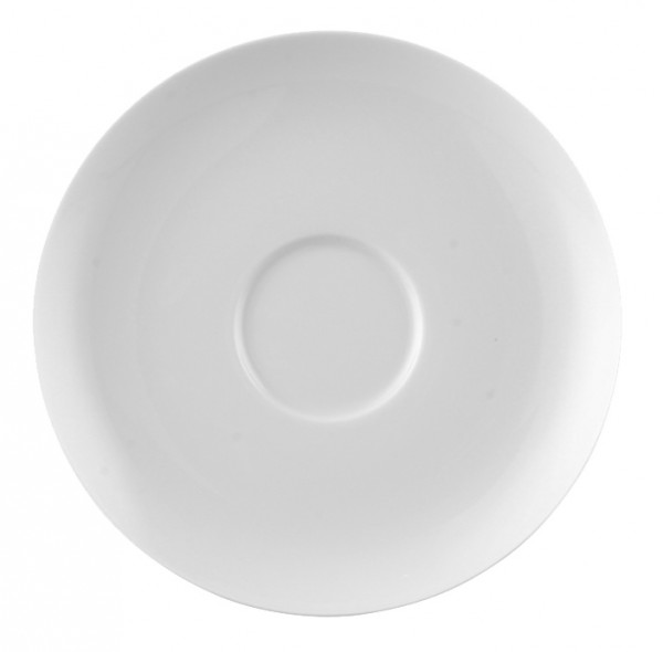Rosenthal Moon weiß Tee Untertasse 15,5 cm