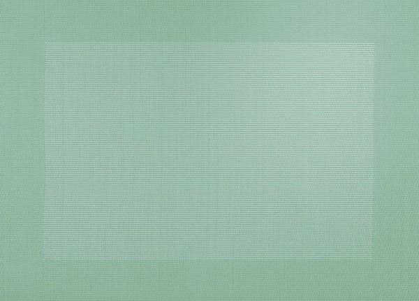 ASA Tischset mit gewebtem Rand 33,0 x 46,0 cm jade