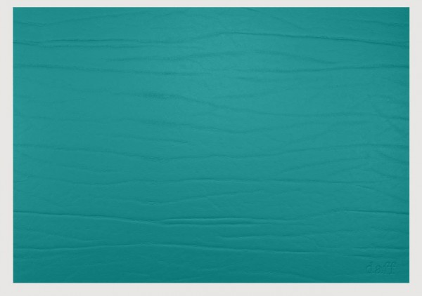 daff Dumbo Leatherixx Tischset aus recycelten Lederüberschüssen 31 x 42 cm everglade