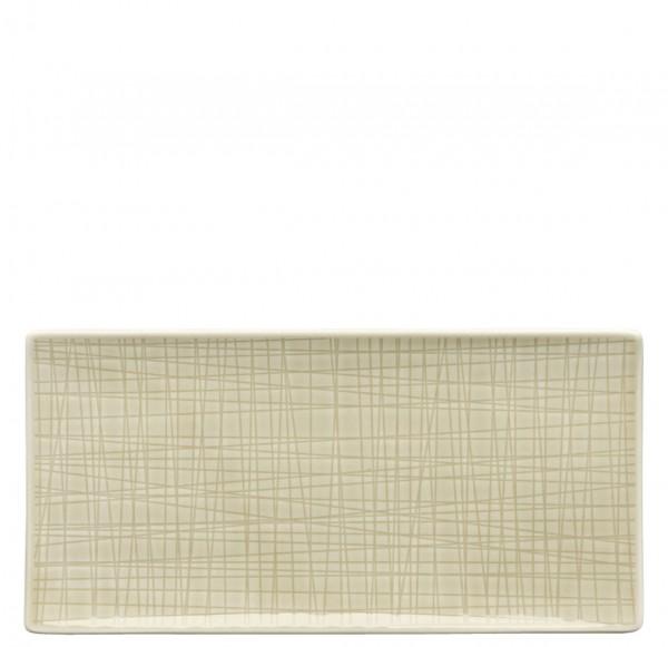 Rosenthal Mesh Colours cream Platte flach 26 x 13 cm