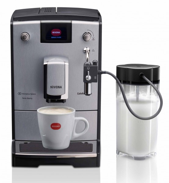Nivona CafeRomatica NICR 670 Kaffeevollautomat silver line