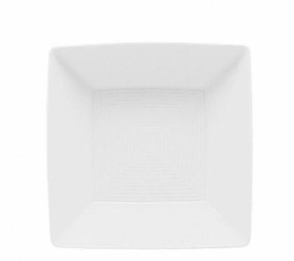 Thomas Loft Weiß Bowl quadratisch 12 cm tief