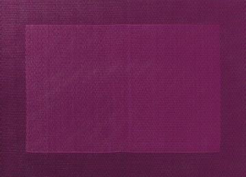 ASA Tischset mit gewebtem Rand 33,0 x 46,0 cm aubergine