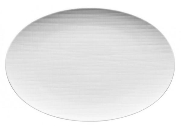 Rosenthal Mesh weiß Platte oval 30 x 20 cm