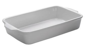 M&W White Basics Kitchen Auflaufform eckig 40 cm