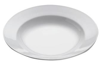 M&W White Basics Round Pastateller Bistro 28,0 cm
