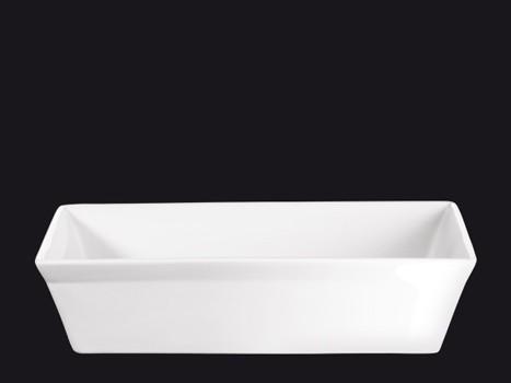ASA 250° C plus Pastetenform Form rechteckig weiß 31 x 11 cm