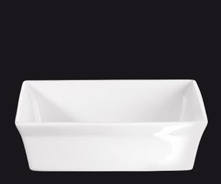 ASA 250° C plus Gratin Form quadratisch weiß 18 x 18 cm