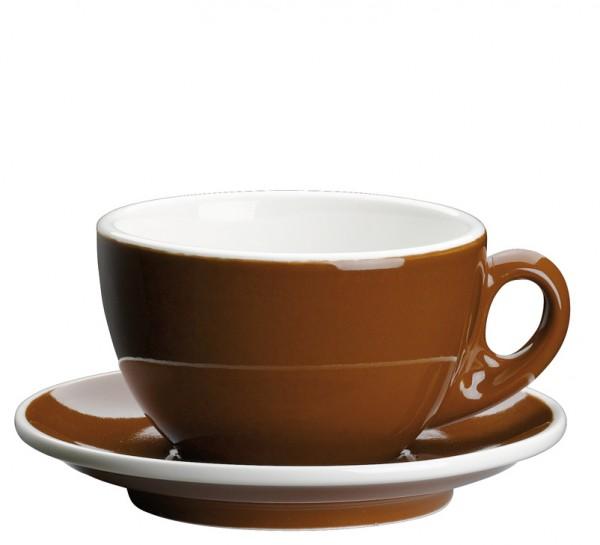 Cilio Milchkaffeetasse Roma marone 0,2 L
