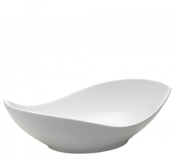 M&W White Basics Accessoires Gifts Schüssel Oslo 42 x 21 cm