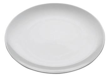 M&W White Basics Round Teller 27,5 cm