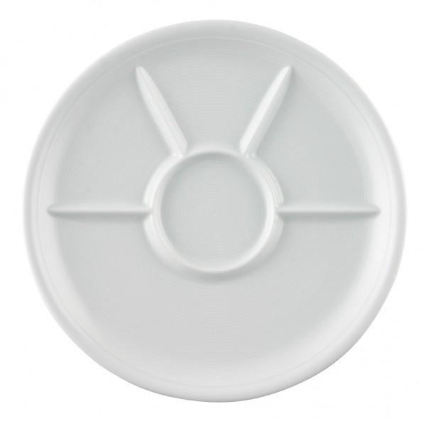 Thomas Trend weiß Fondue-/Grillteller 27 cm