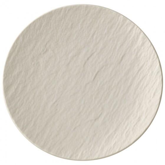 V&B Manufacture Rock blanc Brotteller 16 cm