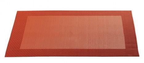 ASA Tischset mit gewebtem Rand 33,0 x 46,0 cm terra