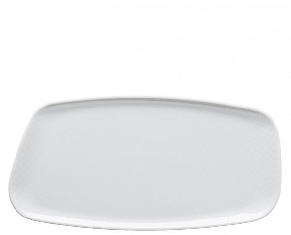 Rosenthal Junto weiß Platte 30 x 15 cm