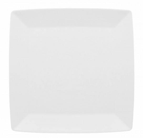 Thomas Loft Weiß Platte quadratisch 27 cm flach