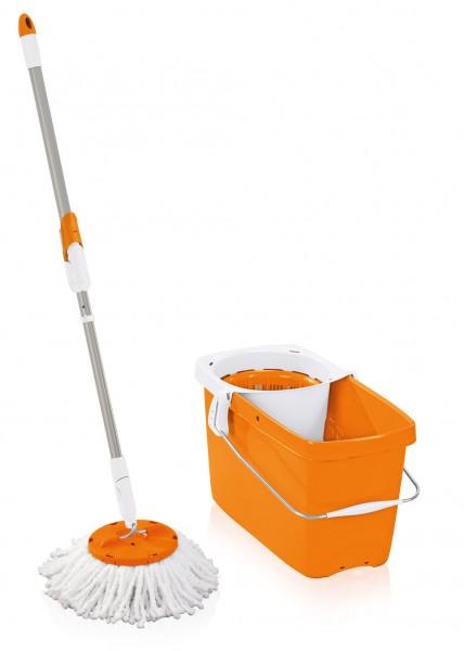 Leifheit Clean Twist Mop limited Colour Edition sunset orange