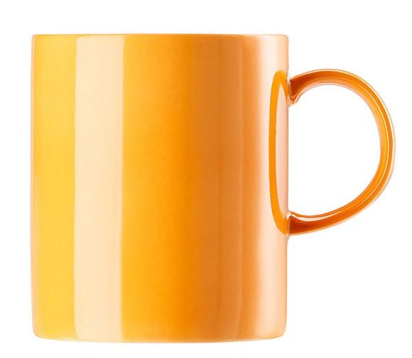 Thomas Sunny Day Orange Becher mit Henkel groß 0,40 L