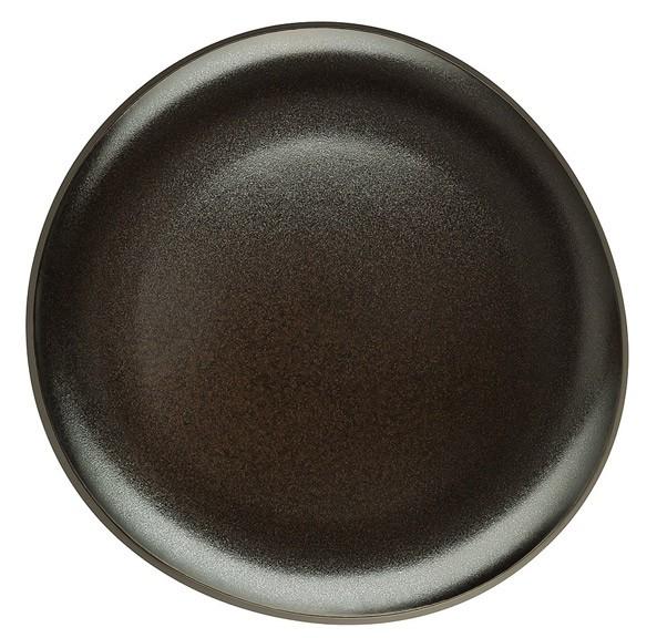 Rosenthal Junto dark slategrey Teller flach 22 cm
