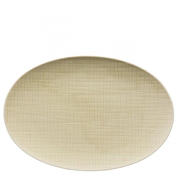 Rosenthal Mesh Colours cream Platte oval 30 x 20 cm