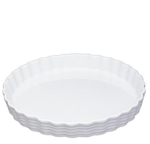 Küchenprofi Burgund Tortenform weiß 30 cm