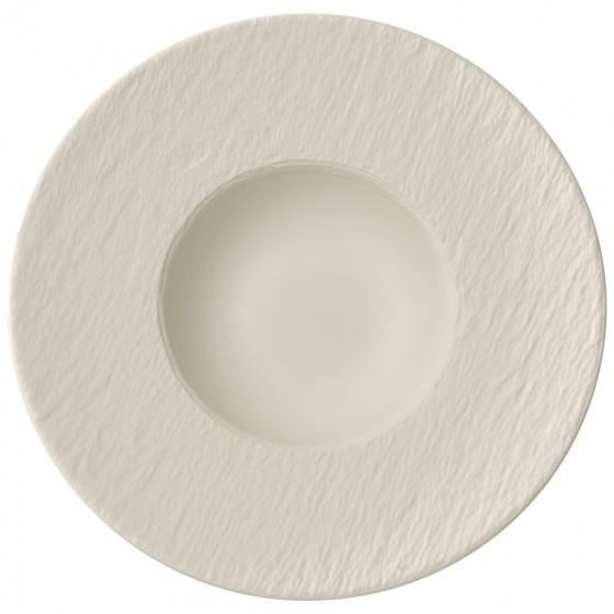 V&B Manufacture Rock blanc Pastateller 29 cm