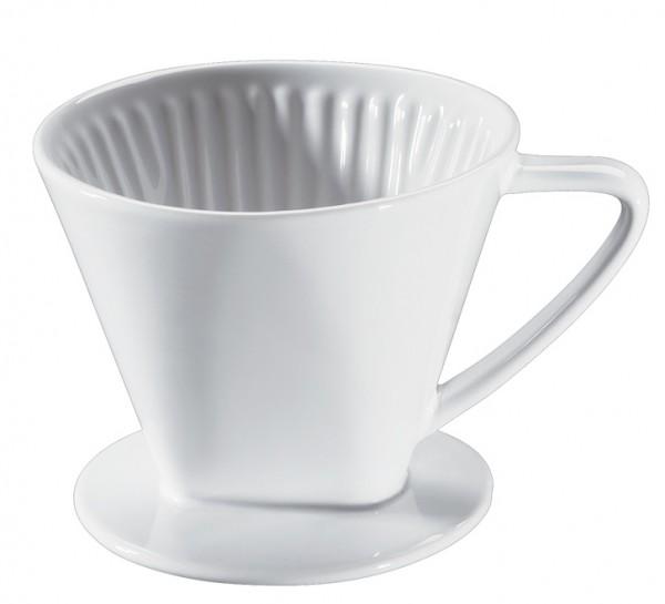 Cilio Keramik Kaffeefilter Größe 2 weiss