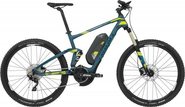 Giant Full E plus 2 Elektro Mountainbike 50 cm/27,5 Zoll deepseablue-limegreen matt-gloss