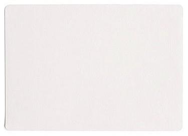 ASA Tischset 33 x 46 cm Lederoptik weiß