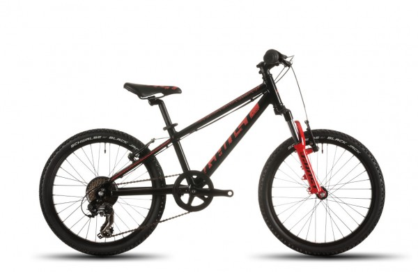 Ghost Powerkid Mountainbike 20 Zoll schwarz/rot
