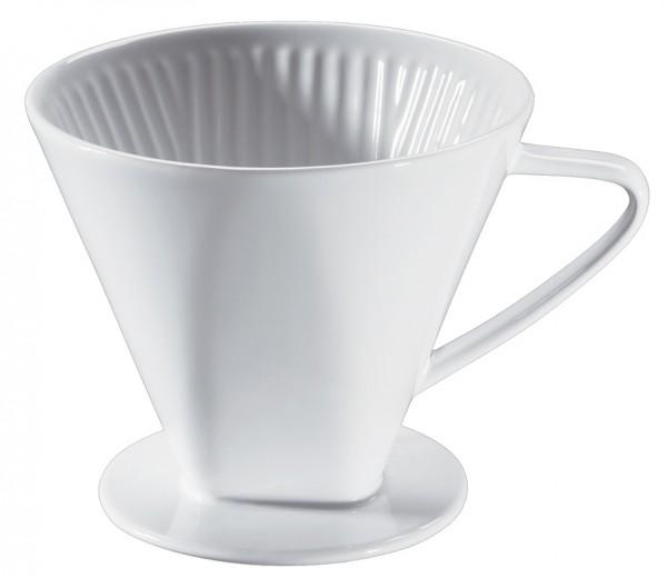Cilio Keramik Kaffeefilter Größe 6 weiss