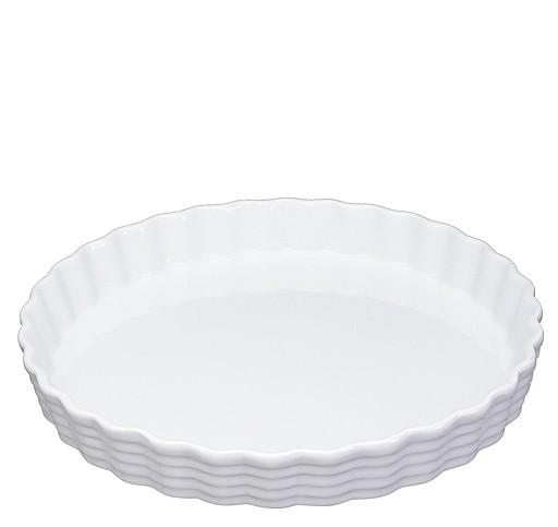 Küchenprofi Burgund Tortenform weiß 28 cm