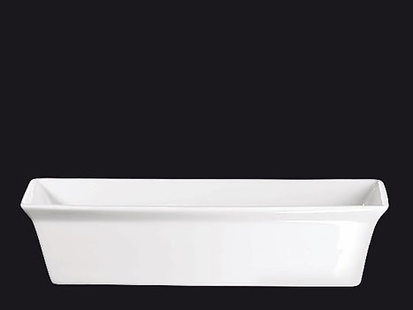 ASA 250° C plus Terrinenform rechteckig weiß 38 x 24 cm