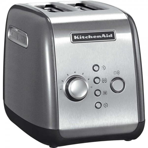 KitchenAid Toaster 5KMT221 für 2 scheiben contur-silber