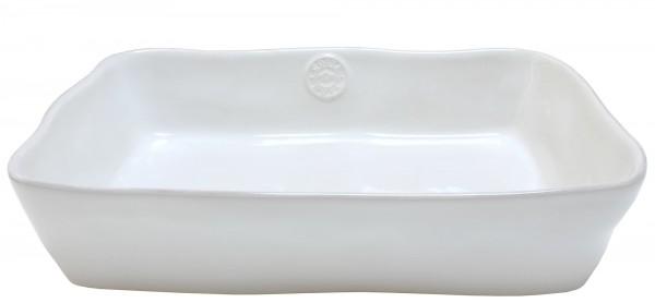 Costa Nova weiß Auflaufform rechteckig 35 cm