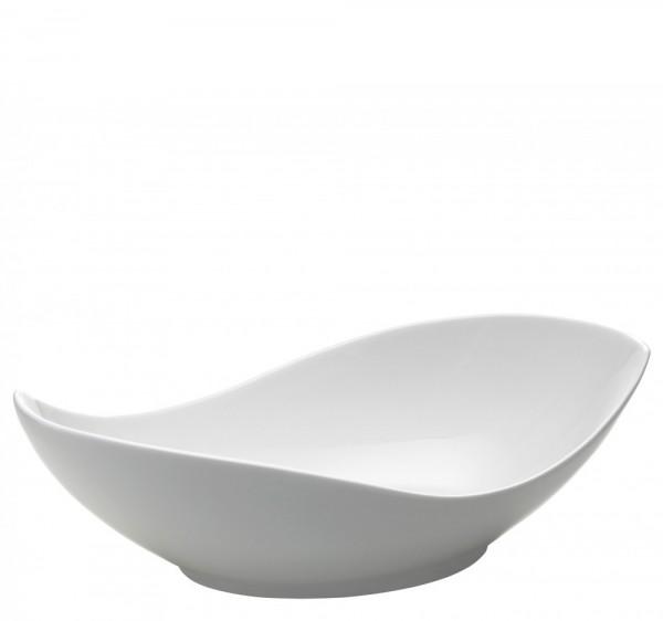 M&W White Basics Accessoires Gifts Schüssel Oslo 31 x 16 cm