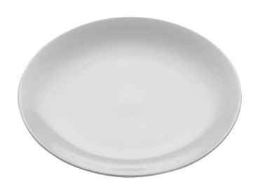 M&W White Basics Round Teller 20,5 cm